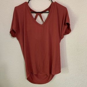 Express One Eleven Open Back Tee- NWT
